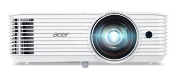 Acer S1286H DLP 3D ShortThrow, XGA 1024x768, 3500 ANSI, 20000:1, VGA, HDMI, repro, 3,1Kg