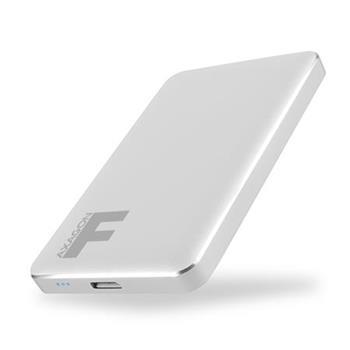 """AXAGON EE25-F6S, USB3.0 - SATA 6G 2.5"""" FULLMETAL externí box, stříbrný"""