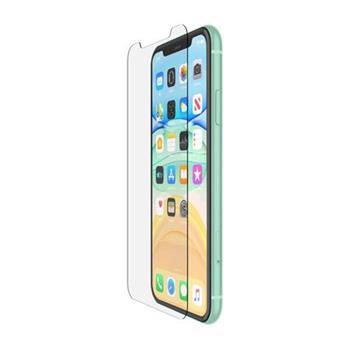 Belkin SCREENFORCE™ Tempered Glass Anti-Microbial ochranné sklo pro iPhone 11/Xr
