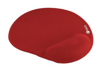 C-TECH podložka pod myš gelová MPG-03, červená, 24