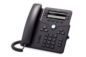 Cisco IP Phone 6851 šedý s podporou 3PCC