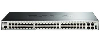 D-Link DGS-1510-52X 52-Port Gigabit Stackable Smart Managed Switch including 4 10G SFP+ and 2 SFP ports (smart fans)