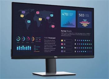 """Dell Professional P2720DC 27""""/WQHD(2560x1440)/1000:1/8ms/350 cd/m2/HDMI/DP/USB-C/DOCK/tenký rámeček/černý"""