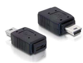 Delock redukce USB mini samec na USB micro B samice