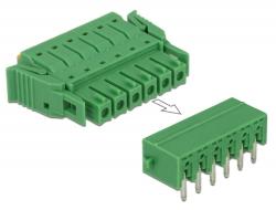 Delock Set svorkovnice pro PCB 6 pin rozteč 3,81 mm horizontální