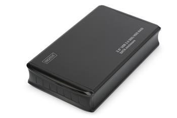 DIGITUS 2,5 '' USB3.0 SSD / HDD RAID SATA skříň Podpora USB 3.0 JBOD, RAID0, RAID1