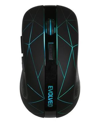 EVOLVEO WM430, bezdrátová herní myš, 6 talčítek, v