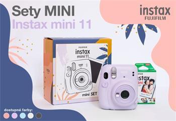 Fujifilm INSTAX MINI 11+ 10 SHOTS - Lilac Purple