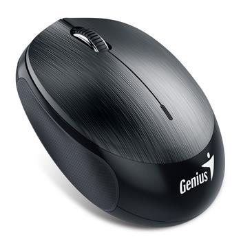 GENIUS NX-9000BT/ Bluetooth 4.0/ 1200 dpi/ bezdrátová/ dobíjecí baterie/ kovově šedá