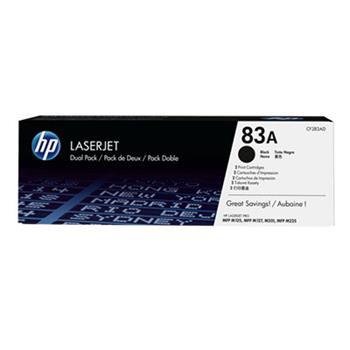 HP CF283AD Toner 83A pro LJ M125nw,a/M201n,dw/M127fn,fw (2 x 1500str), Black