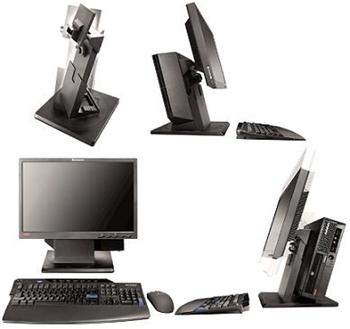 Lenovo Vertical PC & Monitor Stand ii (for 4.9L USFF TC M58)