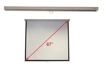 "M87-S01MW Projection Screen 70""x70"" (1/1) Wall & Ceiling Matt White Manual"