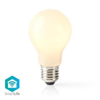 Nedis WIFILF11WTA60 - Wi-Fi Chytrá LED Žárovka   E27   A60   5 W   500 lm   Bílá