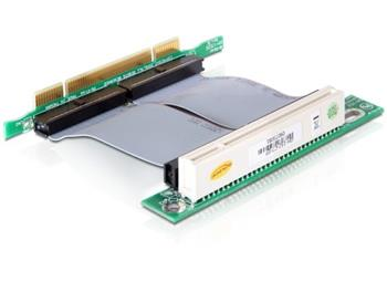 PCI RiserCard 1xPCI s kabelem 7 cm, 32bit/5V