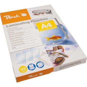PEACH laminovací folie A4 (216x303mm), 125mic, 100ks