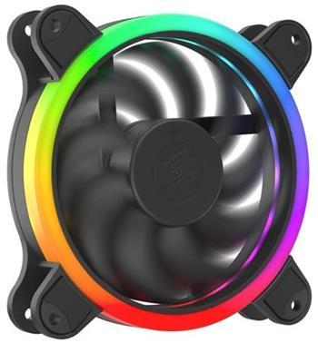 SilentiumPC ventilátor Corona HP EVO ARGB 120 / 120mm fan / ARGB LED / ultratichý