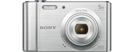 "SONY DSC-W800S 20,1 MP, 5x zoom, 2,7 "" LCD - Silver"