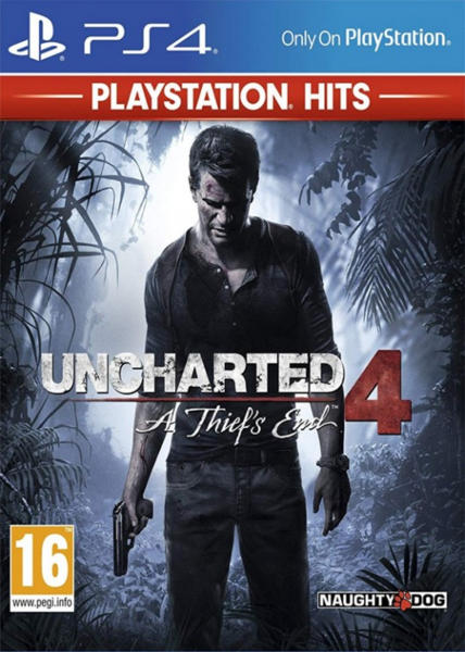 476006ded SONY PS4 hra Uncharted 4: A Thief's End HITS