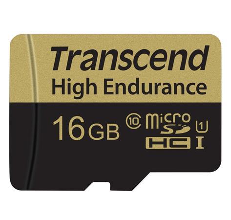 Transcend 16gb Microsdhc Class 10 High Endurance Mlc Prumyslova